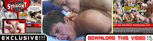 Broke Straight Boys gets you off with over 500 straight boys