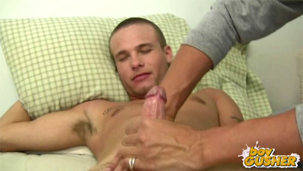 Boy Gusher gay cum shots video