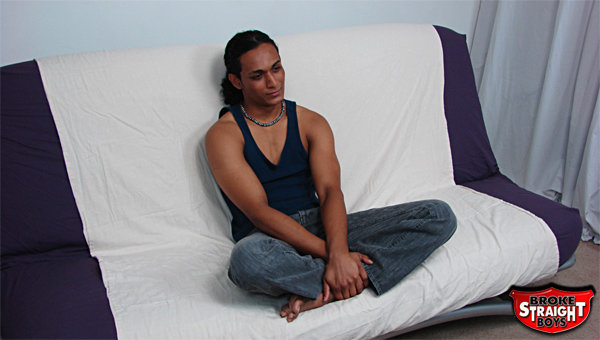 Hot boy from Hawaii does a casting couch video for Broke Straight Boys.