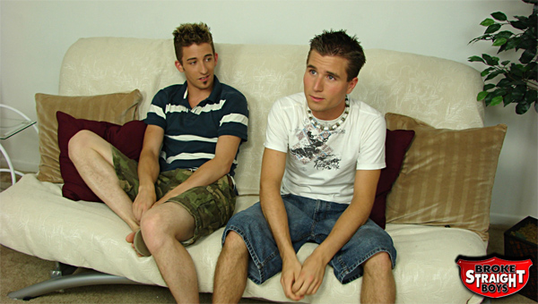Broke Straight Boys gay for pay video