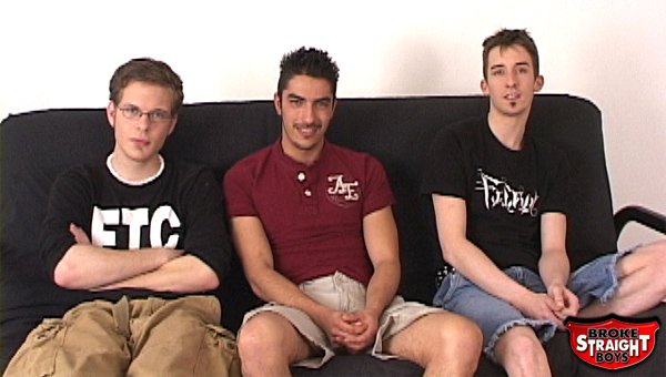 These three str8 boys get pushed to their limits for cash.