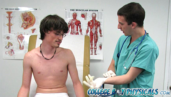 College Boy Physicals gay uniform fetish video