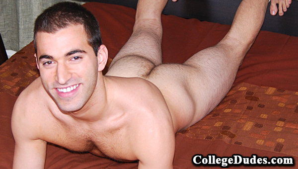 Trevor Hall gay jocks/frat boys video from College Dudes