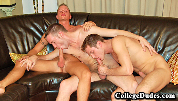 College Dudes gay jocks/frat boys video