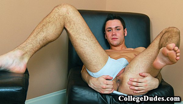 Marc Peron gay jocks/frat boys video from College Dudes