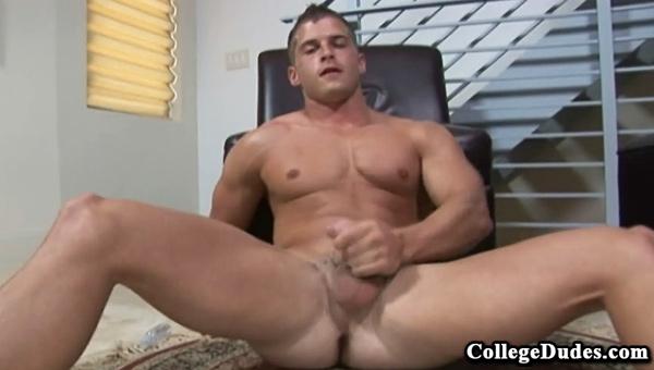 David Knoll gay jocks/frat boys video from College Dudes