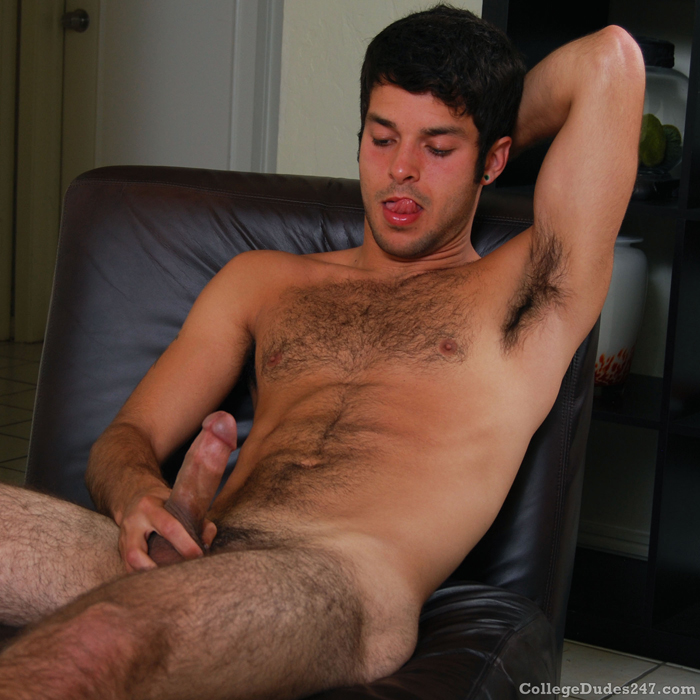 Young Hairy College Men